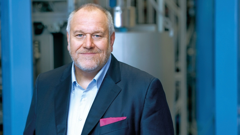 Matthias Altendorf, Endress+Hauser Grubu CEO'su.